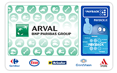 Carta PAYBACK Arval