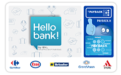 Carta PAYBACK Hello bank!